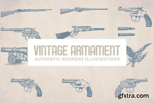 Vintage Armament Illustrations