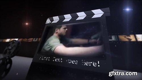 35mm Movie Clapper Cinematic Intro 109865