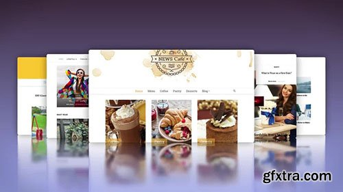 Website Template - After Effects 114649