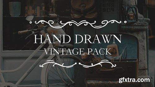 Hand Drawn Vintage Pack - Premiere Pro Templates 114852