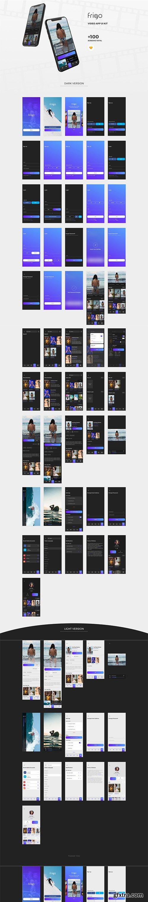 Frigo Video UI Kit