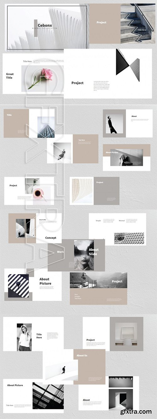Presentation templates page 2 cebonx minimal power point template toneelgroepblik Image collections