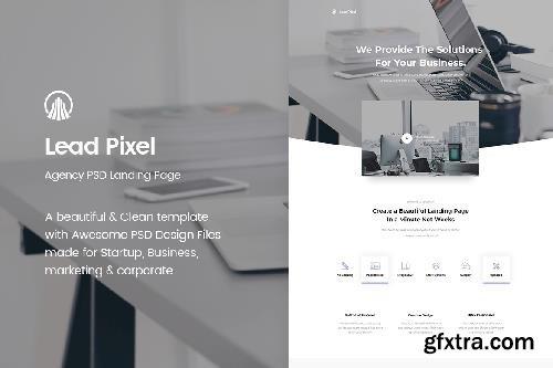 LeadPixel - Agency PSD Landing Page