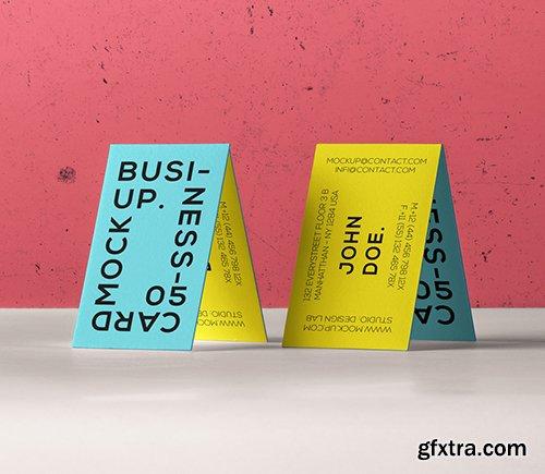 Psd Business Card Branding Mockup 5