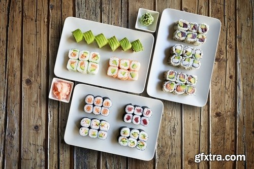 Sushis Maki Plate ABOVE