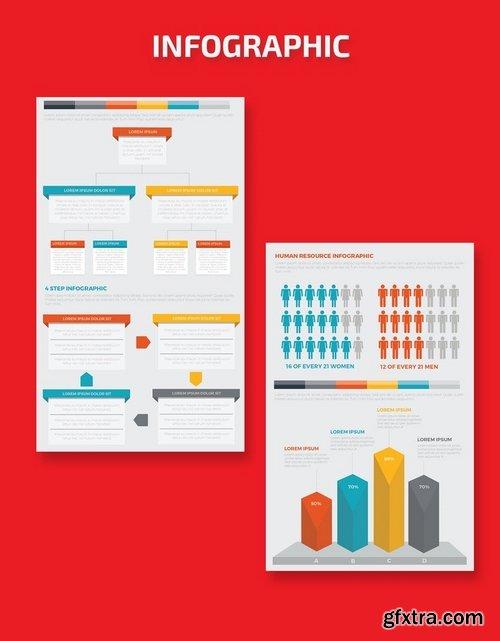 Infographics Template Design 2