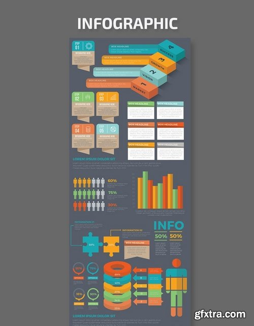 Infographic Template Design 6