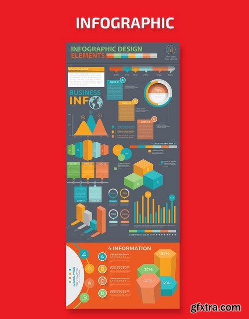Infographic Template Design 8
