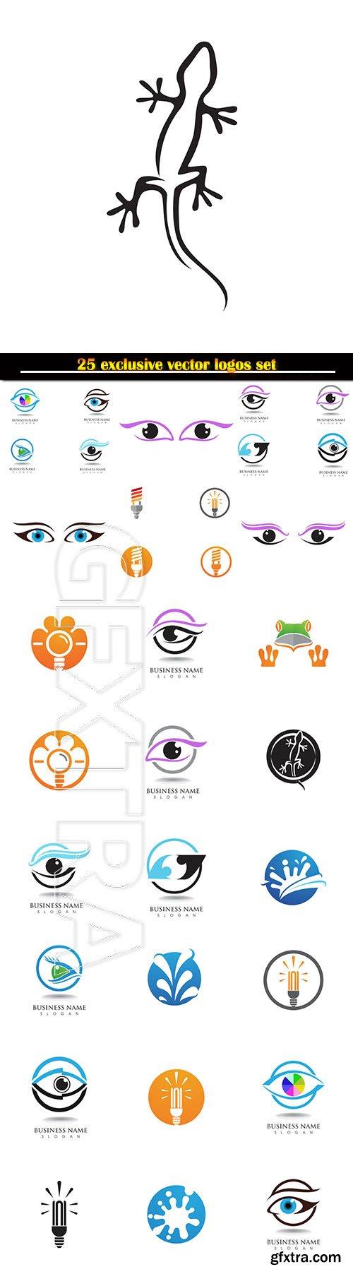 Logo business vector illustration template # 126