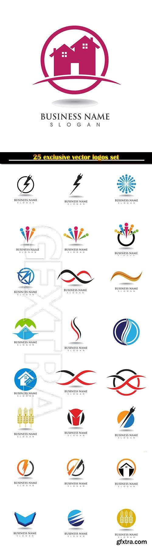 Logo business vector illustration template # 127