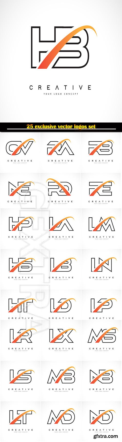 Logo business vector illustration template # 129