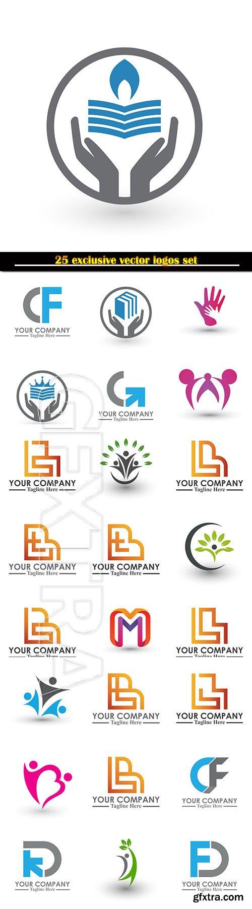Logo business vector illustration template # 130