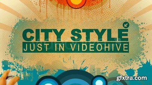 Videohive Funky Retro Spray 2167022