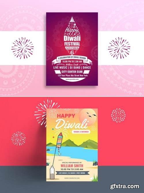Diwali Party Flyer
