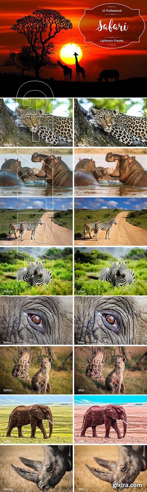 CreativeMarket - Safari Lr Presets 2952472