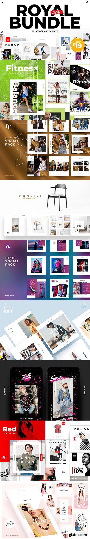 CreativeMarket - Royal Bundle Instagram + FREE update 2942640