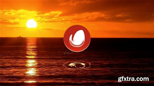 Videohive Water Minimal Dawn Midnight Logo Openers 3 in 1 10769770