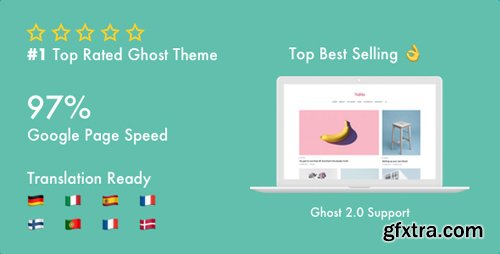 ThemeForest - Nubia v1.2.5 - Make Your Ghost Blog Beautiful & Make It Fast & Accessible - 21076246