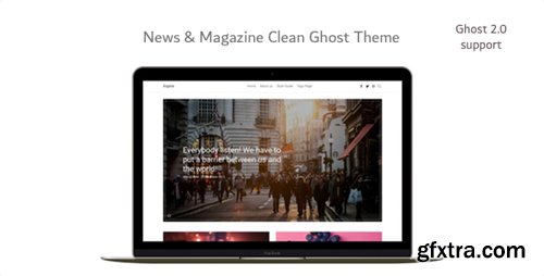 ThemeForest - Aspire v1.5.0 - News & Magazine Clean Ghost Theme - 14230254