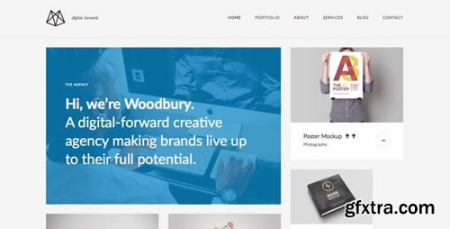 ThemeForest - Woodbury Agency v1.0.0 - Drupal 8.5 Portfolio Theme - 22538958
