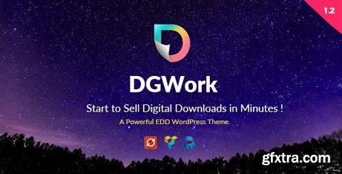 ThemeForest - DGWork v1.3.8 - Powerful Responsive Easy Digital Downloads Theme - 18105506 - NULLED