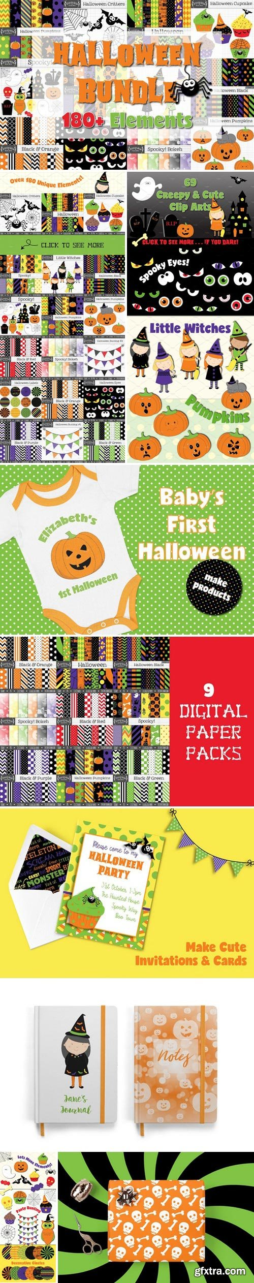 CM - Halloween Graphics Bundle 2779000