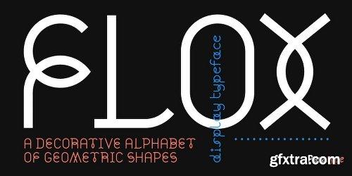 Flox Font Family - 2 Fonts