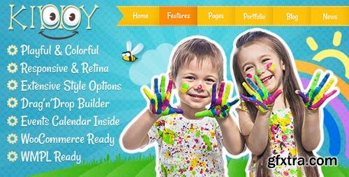 ThemeForest - Kiddy v1.1.6 - Children WordPress theme - 13025968