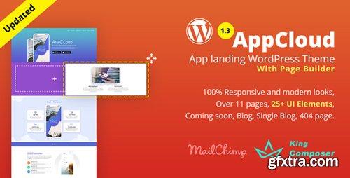 ThemeForest - AppCloud v1.0.6 - App Landing WordPress Theme - 20395945