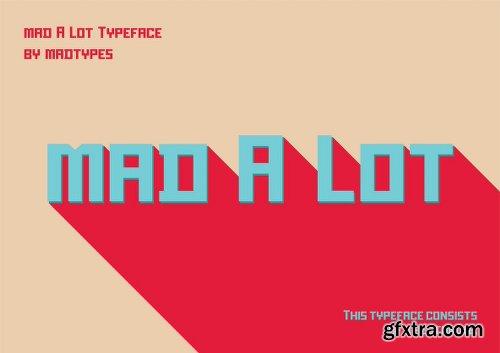 Mad A Lot Font