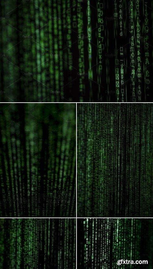 Stock Photos - Binary damage code