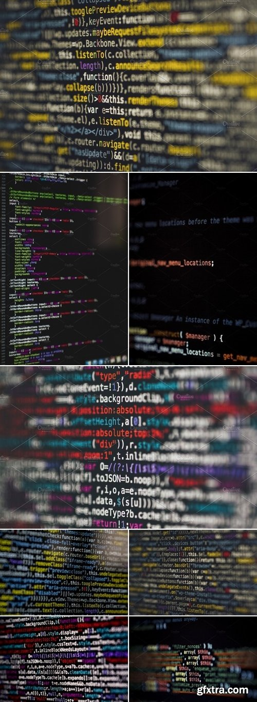 Stock Photos - Html php java source code