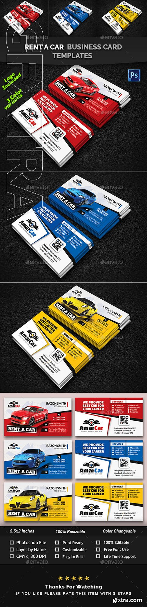 Creativemarket rent a car business card templates 22558238 creativemarket rent a car business card templates 22558238 reheart Images