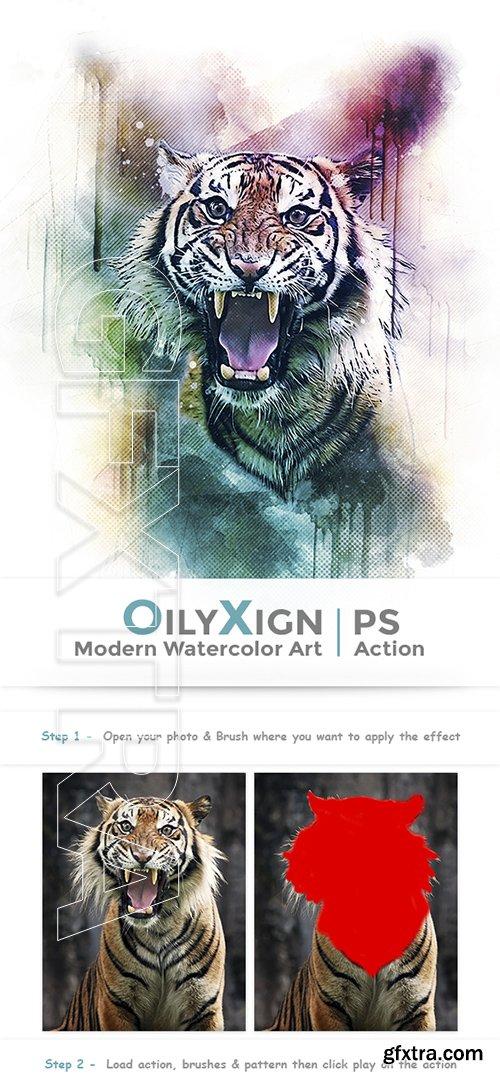 GraphicRiver - OilyXign - Modern Watercolor Art 22561224