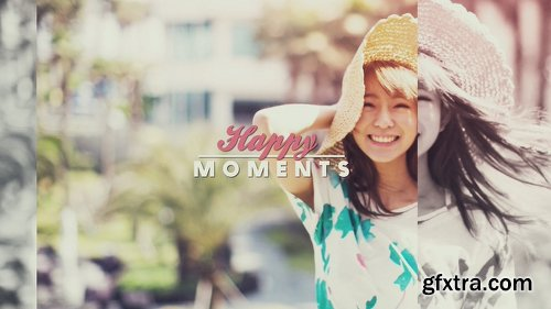 Videohive Happy Moments 12838229
