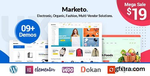 ThemeForest - Marketo v1.0.9 - ECommerce & Multivendor A Woocommerce WordPress Theme - 22310459