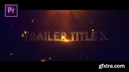 Videohive - Trailer Title V.3 - 22382606