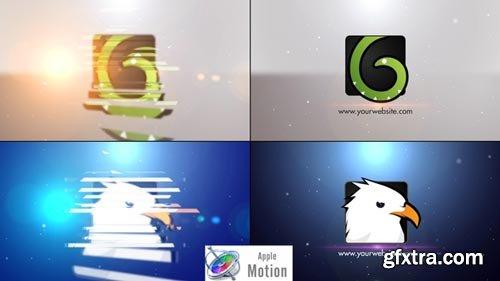 Videohive - Minimal Slice Logo V2 - Apple Motion - 22605859
