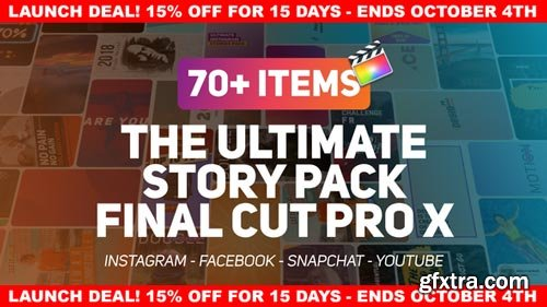 Videohive - The Ultimate Story Pack - Final Cut Pro X & Apple Motion - 22610937