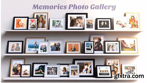Memories Photo Gallery - After Effects 113220