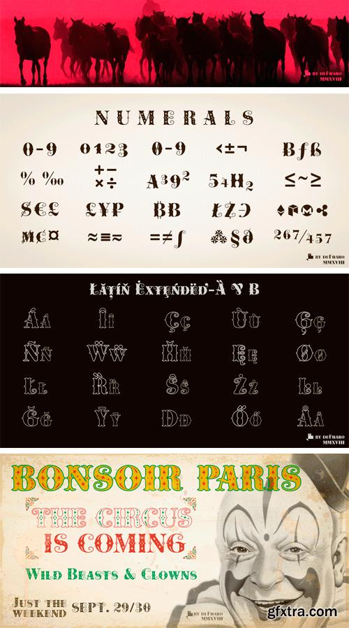 Cowboya Tuscan Serif Typeface