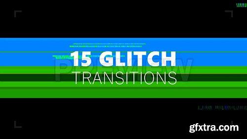 15 Glitch Transitions Pack 110160