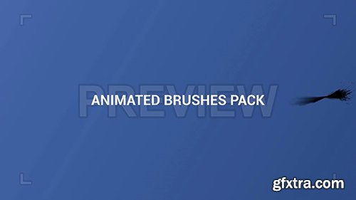 Animated Horizontal Brush Strokes Pack 107182