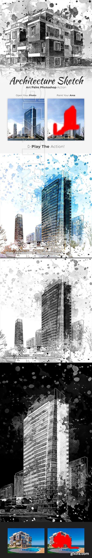 GraphicRiver - Architecture Sketch Art Paint Photoshop Action 22549827