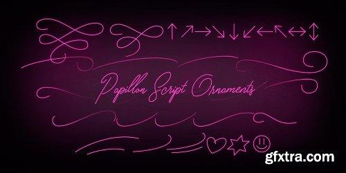 Papillon Script Font