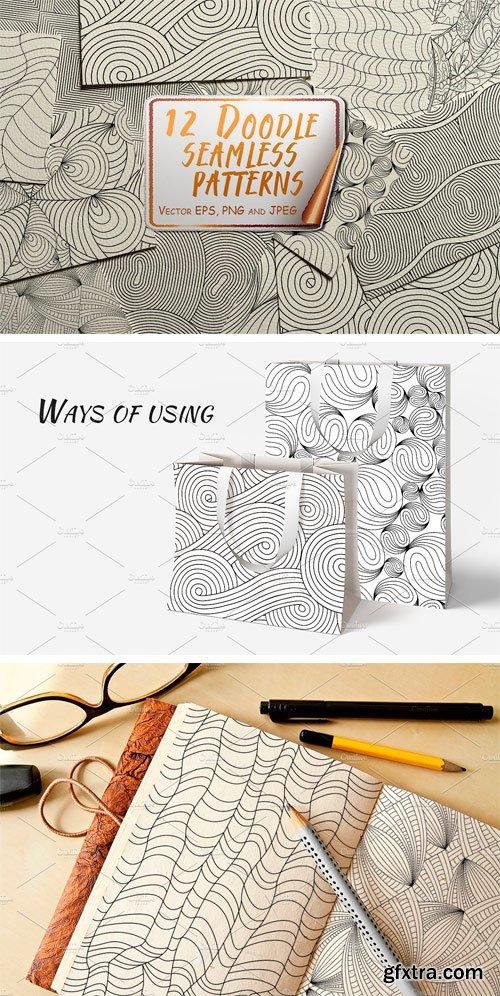 CM - Doodle Seamless Patterns 1638454