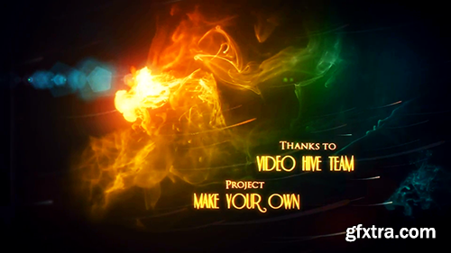 Videohive Space Ink Smoke 8081180