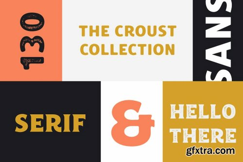 CreativeMarket Croust Font Collection 2501967