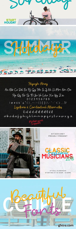 Hiyagh Ahey Font Duo