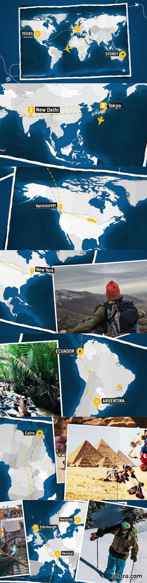 Videohive - Travel Map - Promo Kit - 21811145